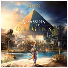 Assassin's Creed Calendar 2018