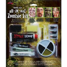 All-in-one Zombie-Make Up Kit