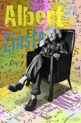 Albert Einstein Poster Imagination