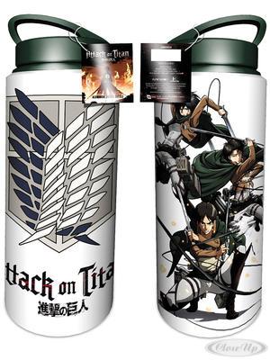 Attack on Titan Alu- Trinkflasche Scout - broschei