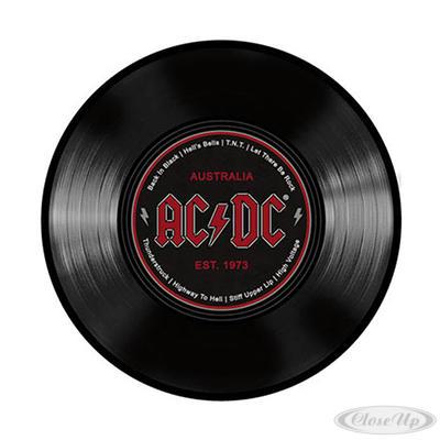 AC/DC Mousepad Schallplatte - broschei