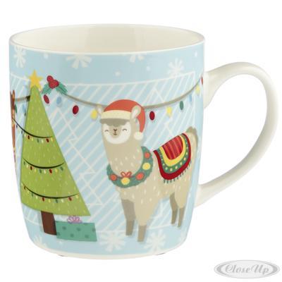 Alpaca Tasse Christmas