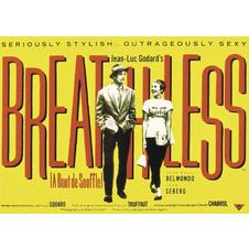 Breathless Poster A Bout de