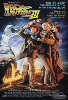 Zurück in die Zukunft III Poster