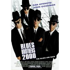 Blues Brothers 2000 Postkarte