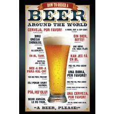 Beer Around the World Poster