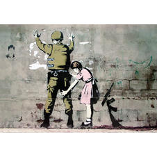 Banksy Poster Soldier and