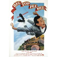 Big top Pee Wee Poster