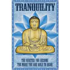 Buddha Poster Tranquility