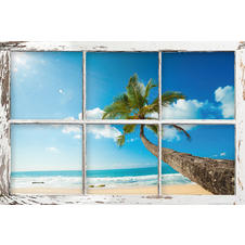 Beach Window Poster Bellavista