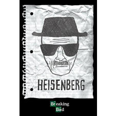 Breaking Bad Poster Heisenberg