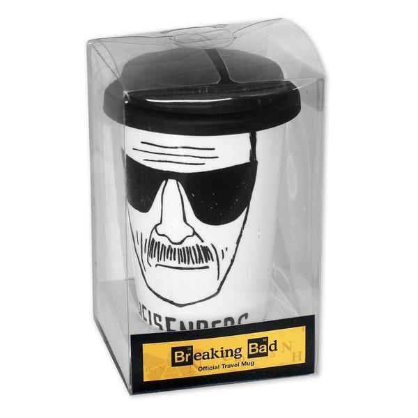 breaking bad travel mug heisenberg bei close up im fanshop. Black Bedroom Furniture Sets. Home Design Ideas
