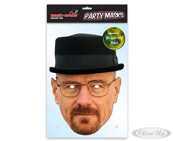 breaking bad party maske heisenberg fanartikel jetzt im. Black Bedroom Furniture Sets. Home Design Ideas