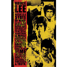 Bruce Lee Poster Collage