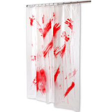 Bloody Shower curtian Psycho
