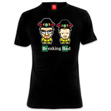 Breaking Bad T-Shirt Comic Duo