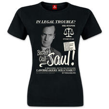 Better Call Saul Girlie-Shirt