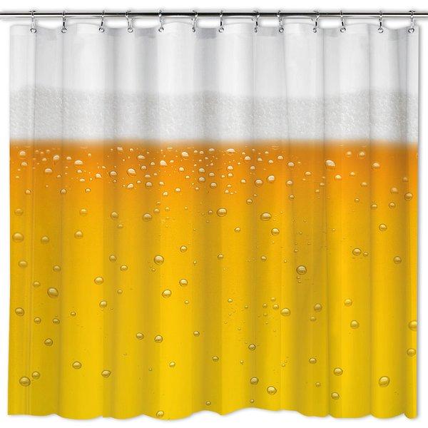 bier duschvorhang beer o 39 clock bei close up kaufen. Black Bedroom Furniture Sets. Home Design Ideas