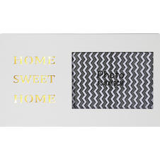 "Bilderrahmen LED ""HOME SWEET"