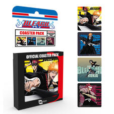 """Bleach"" 4-pc Coaster Set"