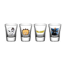 Bleach 4-pc Shot Glass Set