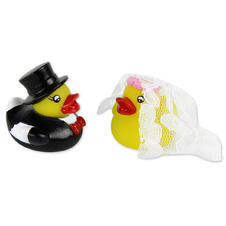 Rubber Duck Wedding Pair