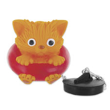 """Cat"" Bathtub plug"