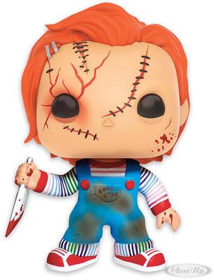 Bride of Chucky Pop! Vinyl Figur Scarred Chucky