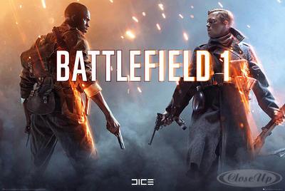 Battlefield 1 Poster Squad