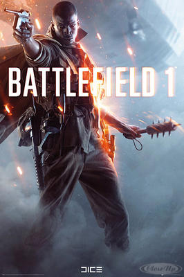 Battlefield 1 Poster Cover