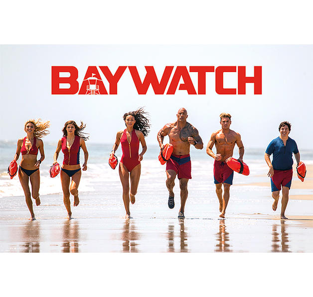 baywatch poster bay team poster gro format jetzt im shop bestellen close up gmbh. Black Bedroom Furniture Sets. Home Design Ideas