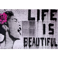 Banksy Poster Billie Holiday