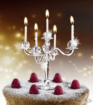 Bling Kerzenständer - broschei