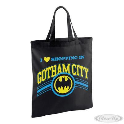 Batman Stofftasche Shopping in Gotham