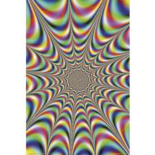 COLOURED ILLUSION POSTER