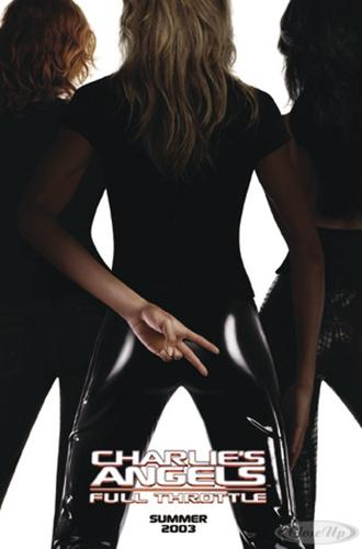 Charlie&acute;s Angels - full Throttle Poster