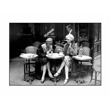 CAFÉ ET CIGARETTE, PARIS, 1925