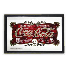 COCA COLA MIRROR 5 CENT
