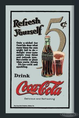 Coca-Cola Spiegel Refresh yourself