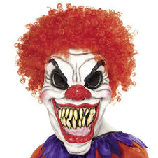 Clown Mask Evil Red
