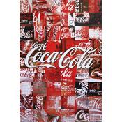 Coca-Cola Poster Patchwork Collage