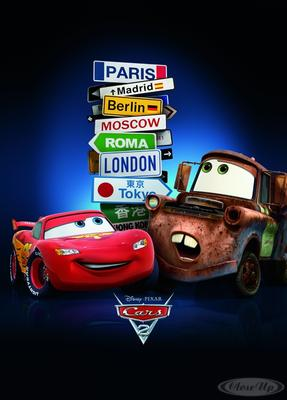 Cars 2 Poster Cities