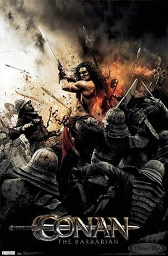 Conan The Barbarian Poster Sword (2011)