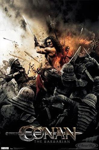 Conan The Barbarian Poster Sword (2011)