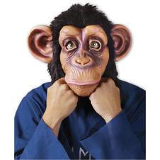 Comical Chimp Maske Schimpanse