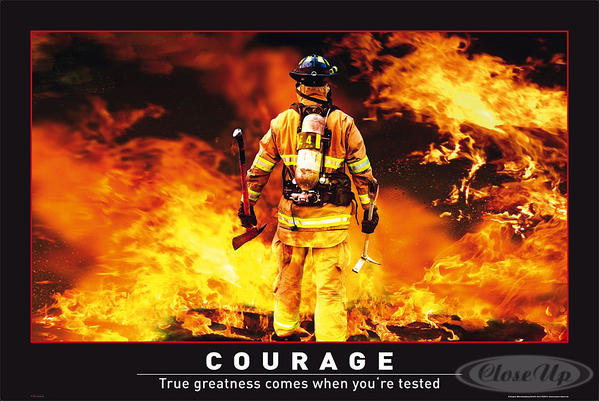 Firefighter Framed Motivational Quotes. QuotesGram