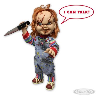 Child´s Play Chucky Puppe 15´´ Talking Mega Scale | Kinderzimmer > Spielzeuge > Puppen