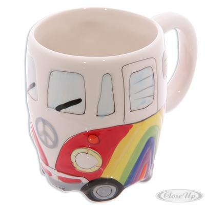 Camper Bus Tasse ´´Rainbow´´ Wohnmobil Tasse