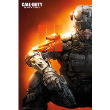 Call of Duty Poster Black