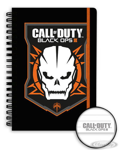 Call of Duty Black Ops 3 Notizbuch DIN A5 Logo - Schreibwaren